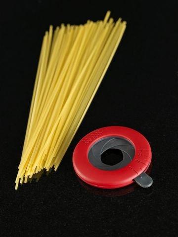 Nastaviteľná odmerka na špagety - červená/šedá SPMDG012HC ...