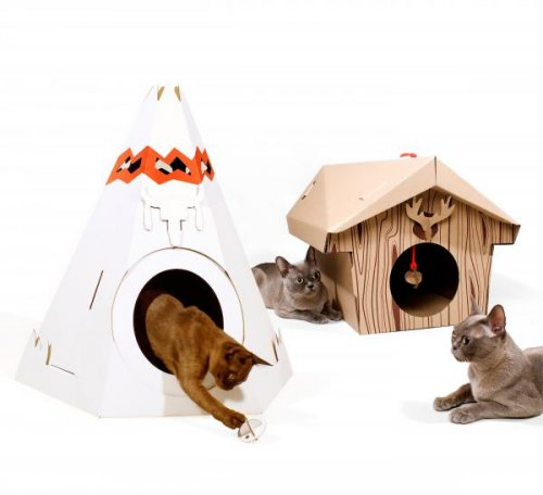 Teepee pre mačku SUCK UK Cat Playhouse